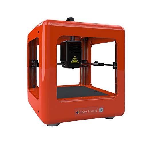 Easythreed Stampante 3D desktop Mini stampante , di piccole dimensioni, leggera, a basso rumore, alta precisione di stampa, facile da usare, adatta per i principianti della stampa 3D (bianco)