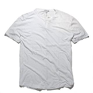 (ジェイムスパース) JAMES PERSE ベーシック クルーネック Tシャツ ホワイト [並行輸入品]
