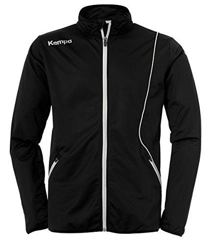 Kempa Herren Curve Classic Jacke, schwarz/Weiß, S