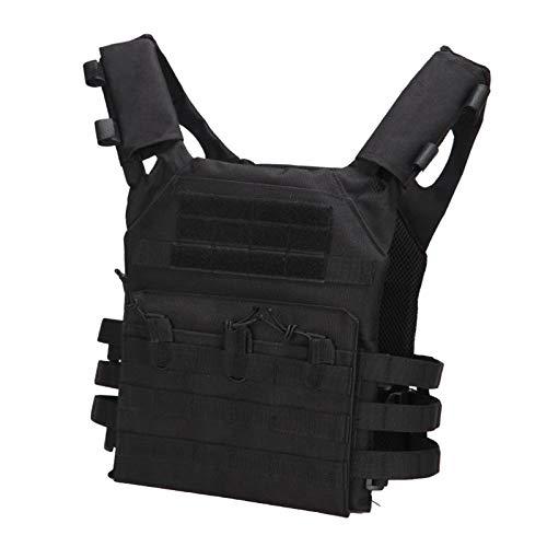 kowaku Vest Molle Plate Carrier Assault for Women Men - Black