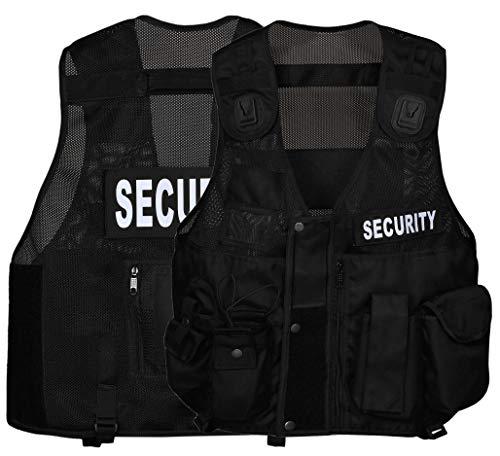 Gilet tattico ad alta visibilità, gilet di sicurezza.