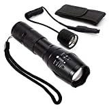 Best Red Flashlights - Red Light LED Flashlight Rechargeable Torch Zoomable Red Review