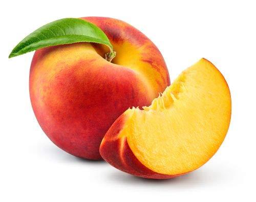 1st. Pfirsich Kernechter vom Vorgebirge Pfirsichbaum100-150cm im Topf selbstfruchtend Pfirsich Obst Busch + Dünger für die Jahresdüngung
