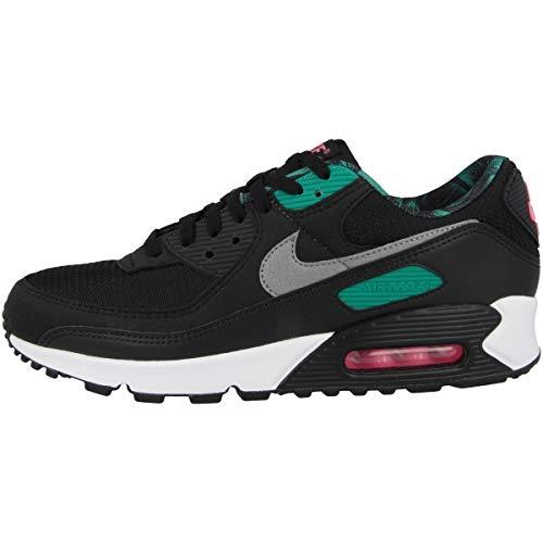 Nike Low Air Max 90 CL - Zapatillas deportivas para hombre, color Negro, talla 39 EU