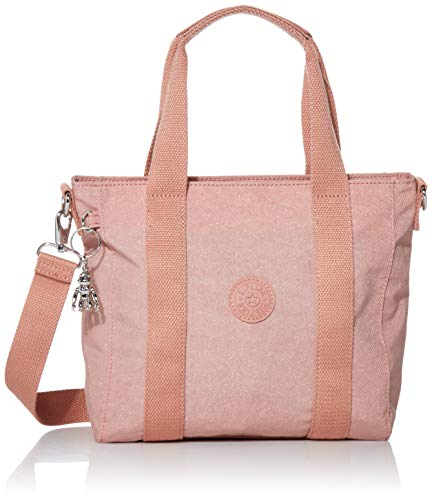 Kipling Women's Asseni Mini Tote Bag, galaxy twist Pink, One Size
