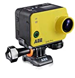 AEE S40 - Videocámara Deportiva Full HD de 8 MP, Color Amarillo