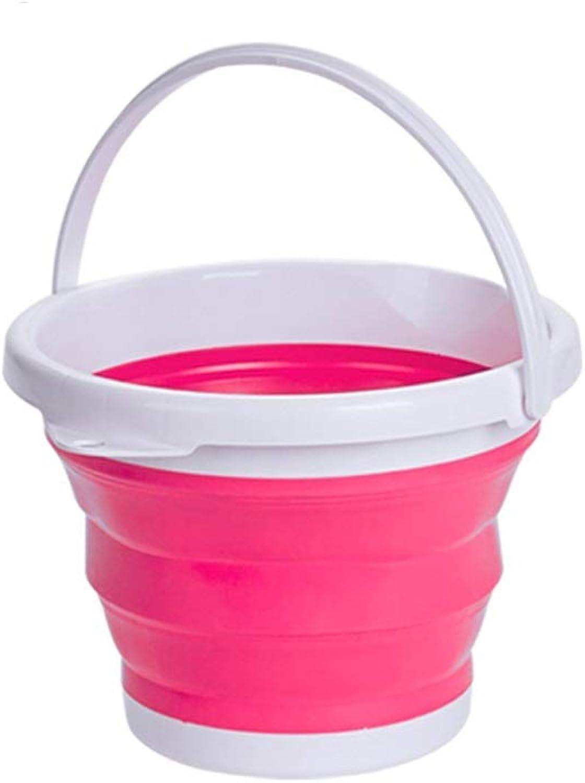 FH Folding Bucket, Portable Portable Retractable Bucket Outdoor Car, Large Capacity Portable