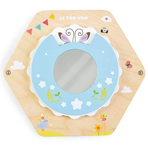 Le Toy Van- Juguete de Madera con Espejo de Actividades Montessori, Color Mirror (5 060023 421270)