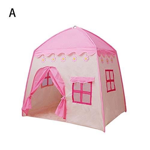 luckything Kinderzelt, Kinderzelt Spielhaus Kletterzelt mit Bodenmatte für Indoor Outdoor 52 23 4CM judicious