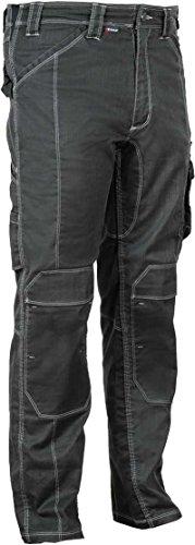 COFRA Arbeitshose Dothan und PEARLLAND passende Arbeitsjacke VIZELA Casual Safety Kollektion (48, Hose Pearland - schwarz)