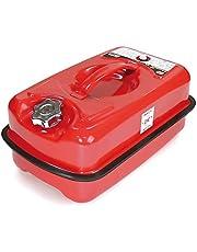 エマーソン 消防法適合ガソリン携行缶R 10L EM-127 [消防法適合品 KHK] 鋼板厚0.8mm EMERSON EM127