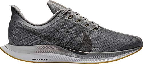 Nike Men's Air Zoom Pegasus 35 Turbo Running Shoes (11.5, Black/Grey)