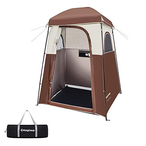 KingCamp Outdoor or Indoor Camping Dressing Changing Room Tent Shower Privacy Shelter Tent (Coffee)
