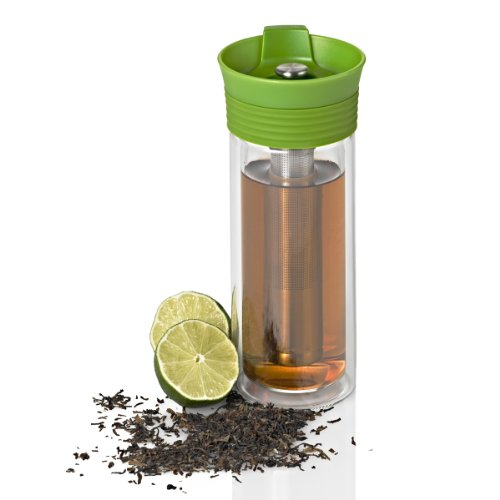 Avaya Thermo-Teetasse, aus Kunststoff, grün, 21x 10x 10cm