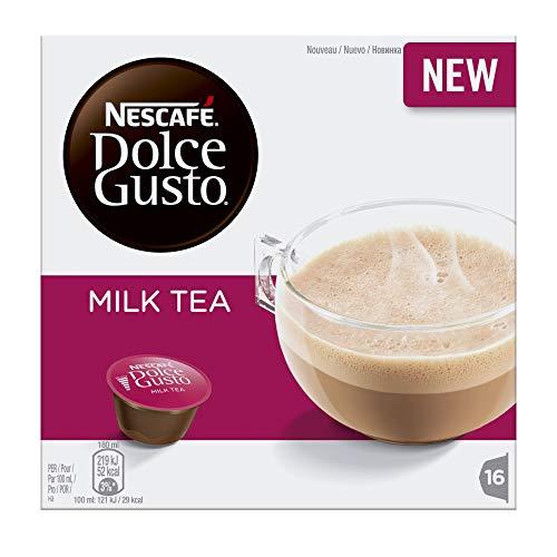 Nescafé Dolce Gusto Tea Latte, Teekapsel, Tee, 16 Kapseln (8 Portionen)