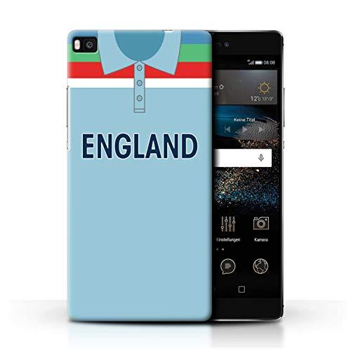 eSwish Hülle/Case für Huawei P8 / England/Englisch Muster/Retro Cricket Weltmeisterschaft 1992 Kollektion