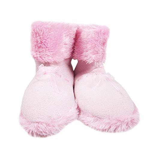 CattleBie Zapatos con calefacción USB Calientapiés climatizada Cargadores de Interior Calza los Cargadores de Peluche Material de calefacción (Color : Rosado, tamaño : 38)