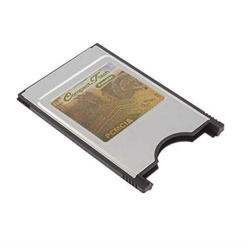 Desconocido Compact Flash CF to PC Card PCMCIA Adapter Cards Reader for Laptop Notebook