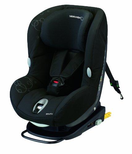 Bébé Confort MiloFix Seggiolino Auto, Gruppo 0+/1, 0-18 kg, Total Black