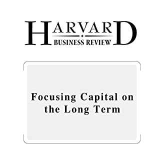 『Focusing Capital on the Long Term (Harvard Business Review)』のカバーアート
