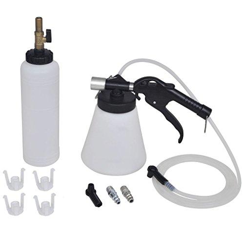 vidaXL Bremsenentlüftungsgerät Druckluft Bremsenentlüfter Nachfüllflasche