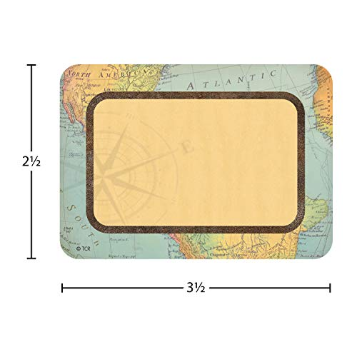 Teacher Created Resources Travel The Map Name Tags/Labels - Multi-Pack (TCR8574) Photo #2