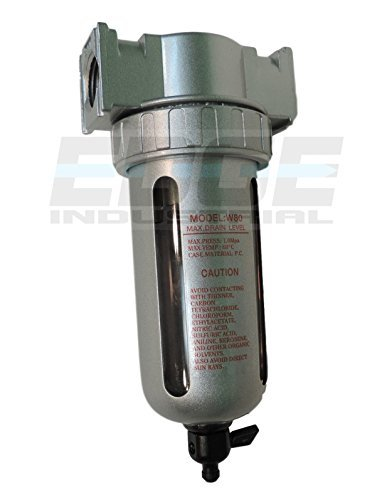 COMPRESSED AIR IN-LINE PARTICULATE FILTER, MOISTURE TRAP, 1/2