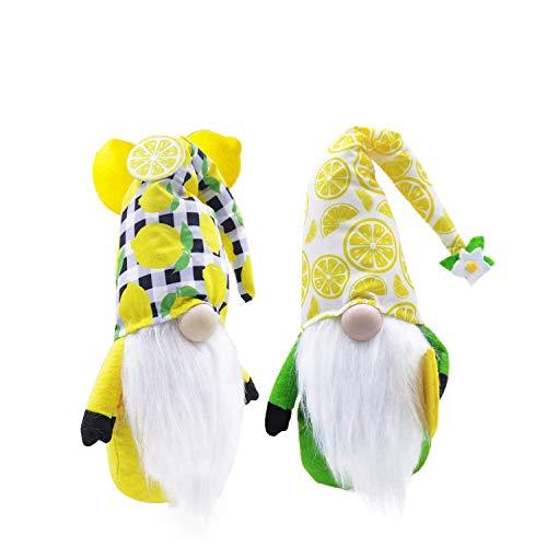 Pudyor Scandinavian Summer Gnome Lemon Gonks Elfs Swedish Dwarf Farmhouse Kitchen Decor Summer Decorations Gifts Father's Gift