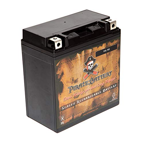 Rechargeable YTX16L-BS Power Sport Battery Replacement for Jet Ski for Yamaha Wave Runner 1995