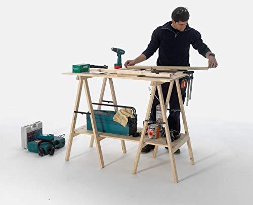 Wolfpack 05110500 - Caballete de madera 75 x 75 cm ✅