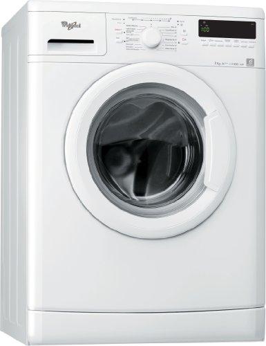 Whirlpool AWO 7748 Waschmaschine Frontlader / A+++ B / 1400 UpM / 7kg / 6th Sense Infinite Care / Speed 15 Programm / Small display /unterbaufähig