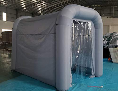 KUYT Aufblasbar Desinfektion Tunnel Temporär Sterilisation Oxford Stoff Zelt Einfache Installation mit elektrischer Luftpumpe, Wiederverwendbar Qualität Garantie, Aktualisierte