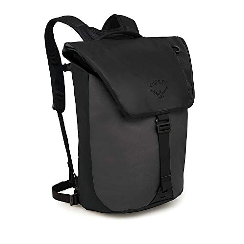 Osprey Packs Transporter Flap Laptop Backpack, Black