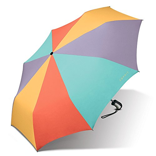 ESPRIT Easymatic 3-section light sorbet combination 52677 Regenschirm Taschenschirm Schirm Schirme