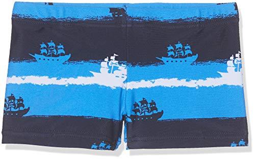 Sanetta Jungen Swim Trunks Badehose, Blau (Soft Blue 50288), 104