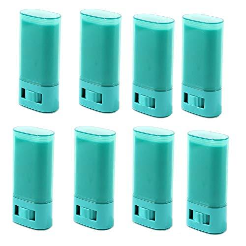 Contenedor de desodorante de plástico vacío de 8 piezas, 2