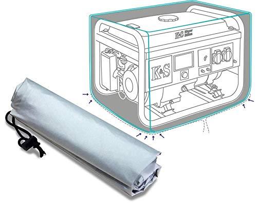 Könner & Söhnen KS Cover 20 - Wasserdichte, staubdichte und robuste schützende Polyester Abdeckung zum Schutz des Generators