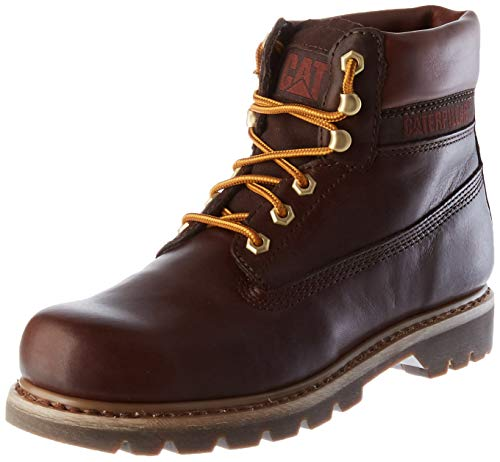 Cat Footwear Colorado Lux, Stivaletto Uomo, Rosso (Mogano Profondo), 41 EU
