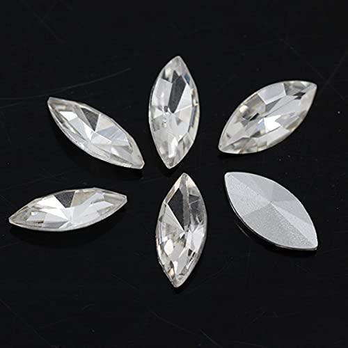Todos los tamaños 24 colores chispeando caballos de imitación de cristal gemas artesanías perlas para joyas prendas de vestir accesorios de arte de uñas