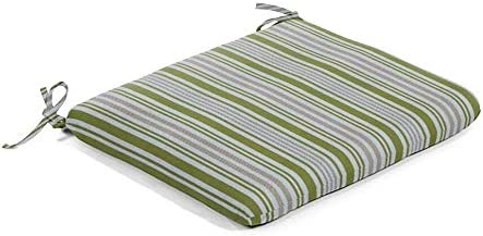 Grass Multi Japan Maker New Stripe Outdoor Seat Pad Inch fo Pads Green 20 Max 76% OFF Chair