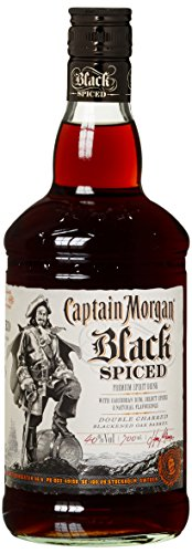 Captain Morgan Black Spiced Rum (1 x 0.7 l)