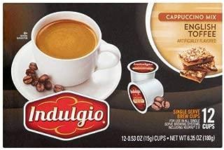 indulgio english toffee cappuccino