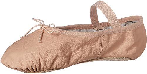 Bloch Women's Dansoft Full Sole Leather Ballet Slipper/Shoe, Pink, 4 Narrow