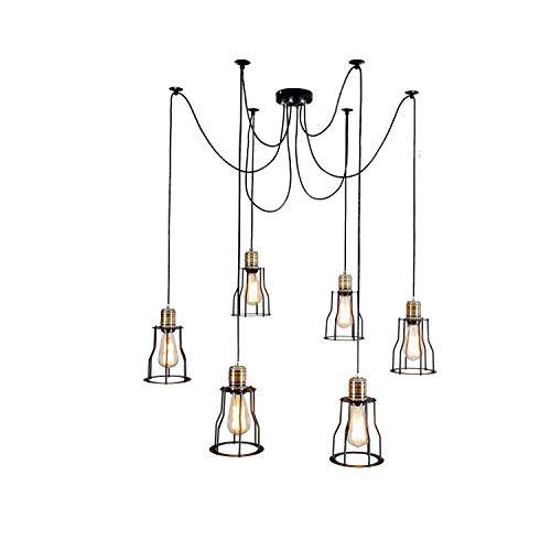 AI LI WEI mooie lampen/Nordic industrie kroonluchter Retro Loft IKEA woonkamer bar restaurant verlichting creatieve dag vrouwelijke verzstrooide bloemen kroonluchter
