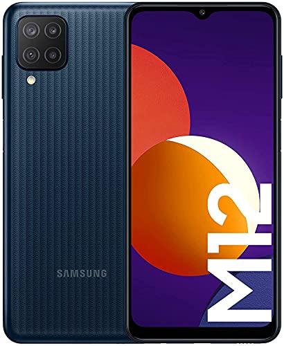 Samsung Galaxy M12 M127F 64GB 4GB RAM Factory Unlocked (GSM Only   No CDMA - not Compatible with Verizon/Sprint) International Version - Black
