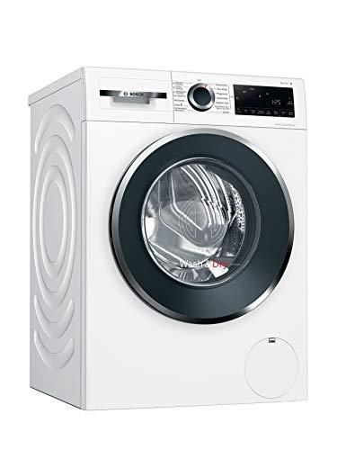 Bosch WNG24440 Serie 6 Waschtrockner / E / 372 kWh/100 Betriebszyklen (Waschen & Trocknen) / 9/6 kg / 1400 UpM / Weiß mit Glastür / AutoDry / Nachlegefunktion / Fleckenautomatik