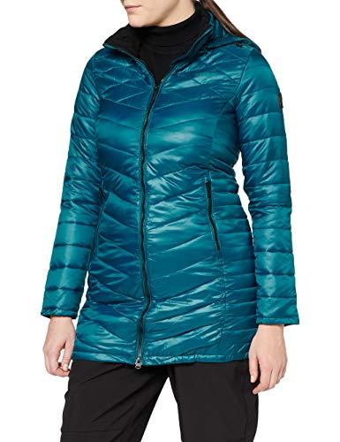 Regatta Andel II Chaqueta acolchada, tejido ligero con aislamiento y capucha Baffled/Quilted Jackets, Mujer, Sea Blue, 14