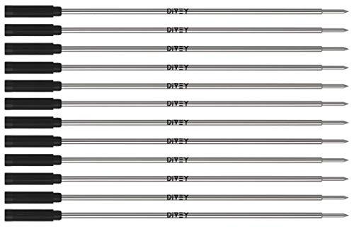 12x DIVEY Cross - Kugelschreiberminen