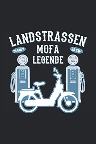 """Kalender 2021 - 2022 Mofa Moped Führerschein bestanden Mofafahrer: 01.01.2021 - 31.12. 2022 Kalender A5 ( 6\"""" x 9\"""") 120 pages Jahres- Wochenplaner 120 Seiten 2021 - 2022 Planner für Mofafahrer"""