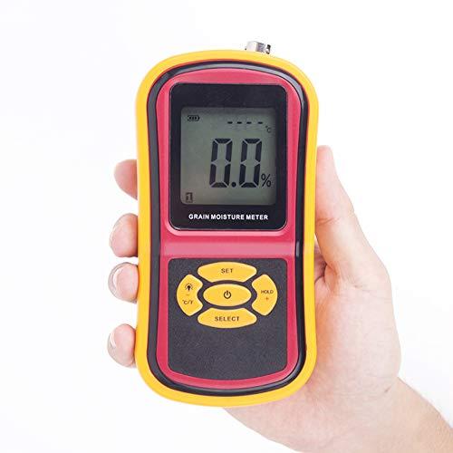Getreidefeuchtigkeitsmesser, Hygrometer Verwenden Getreide Weizen Erdnuss Korn Messung Feuchtigkeit Feuchtigkeit Tester, für Korn/Hay Moisture-Test